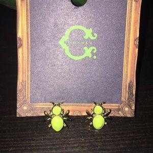 C wonder bug earrings
